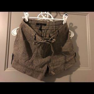 BCBG Linen Shorts